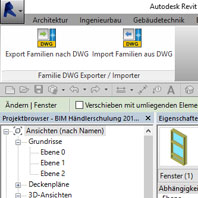 Simplify BIM with Revit app: Family/DWG Exporter Importer for Revit